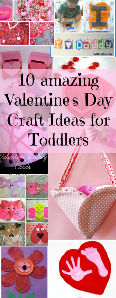 Valentine\'s Day Craft Ideas for Toddlers - Odd Socks and Lollipops